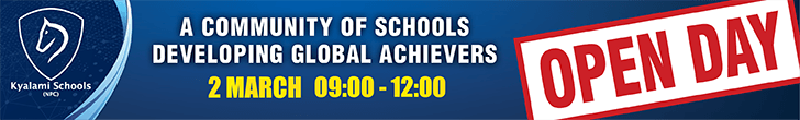 Kyalami schools – Open Day – Top/Bottom Post Banner