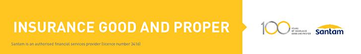 Santam – East Rand – Top/Bottom Post Banner