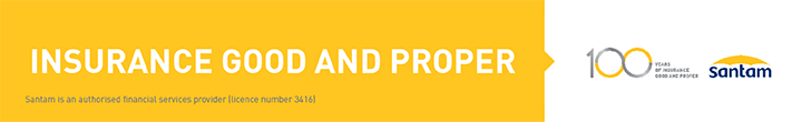 Santam – Potch, Klerksdorp & Surrounds – Top/Bottom Post Banner