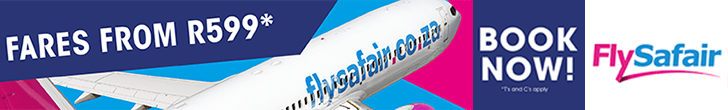 FlySafair – Book Now – Regional Leaderboard