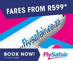 FlySafair – Book Now – Regional Rectangle Post Bottom