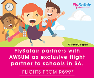 FlySafair – Regional Rectangle Post Bottom