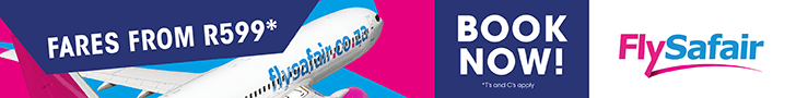 FlySafair – Book Now – Regional Footer