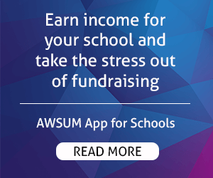 AWSUM App – Rectangle – Take the stress out of fundraising